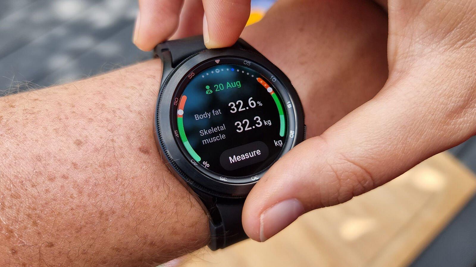 Samsung Galaxy Watch 4 Classic BCA results