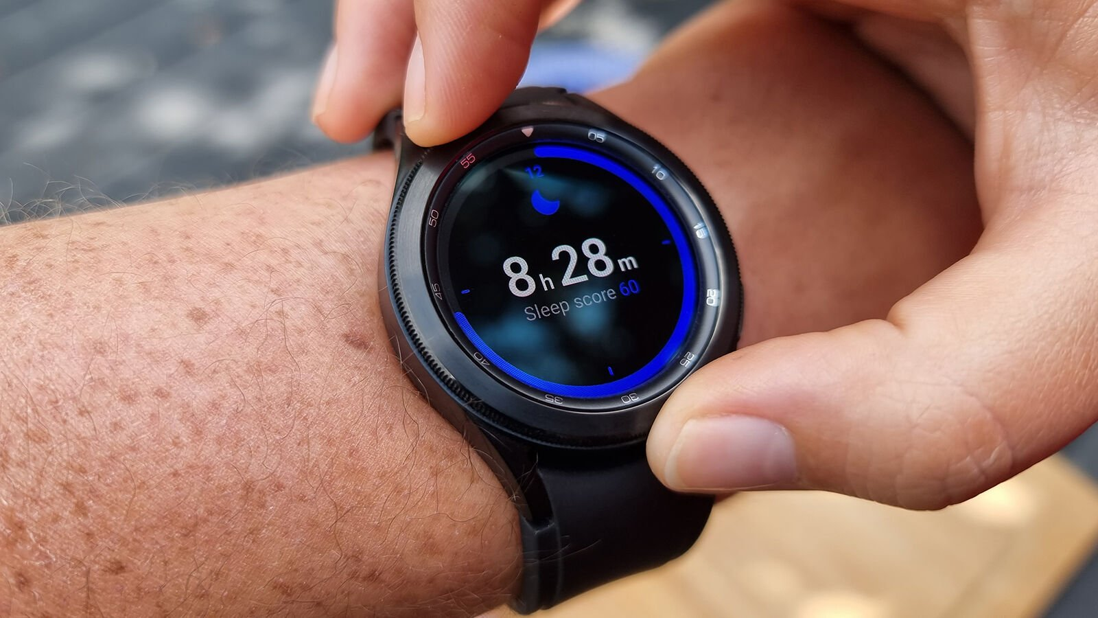 Samsung Galaxy Watch 4 Classic sleep tracking