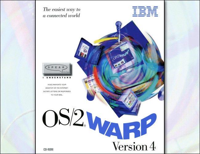 IBM OS/2 Warp 4 Retail Box Cover