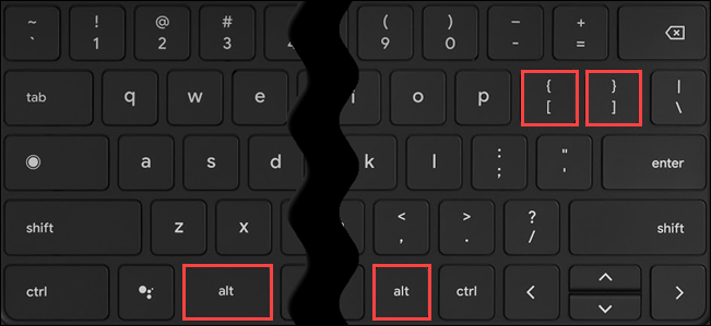 Use Alt + [ or Alt + ] to move the current window to the left or right.