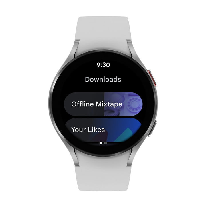 The YouTube Music app for Wear OS 3.