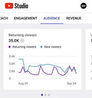 YouTube Audience insights