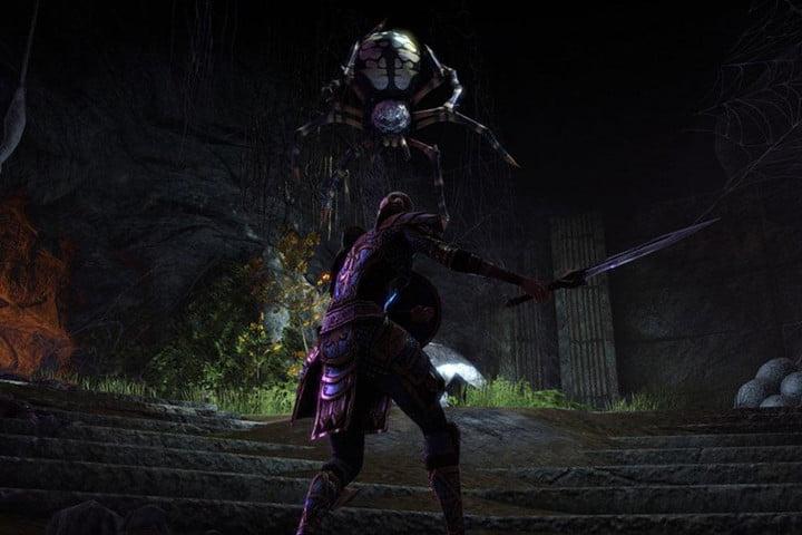 The Elder Scrolls Online solo combat.