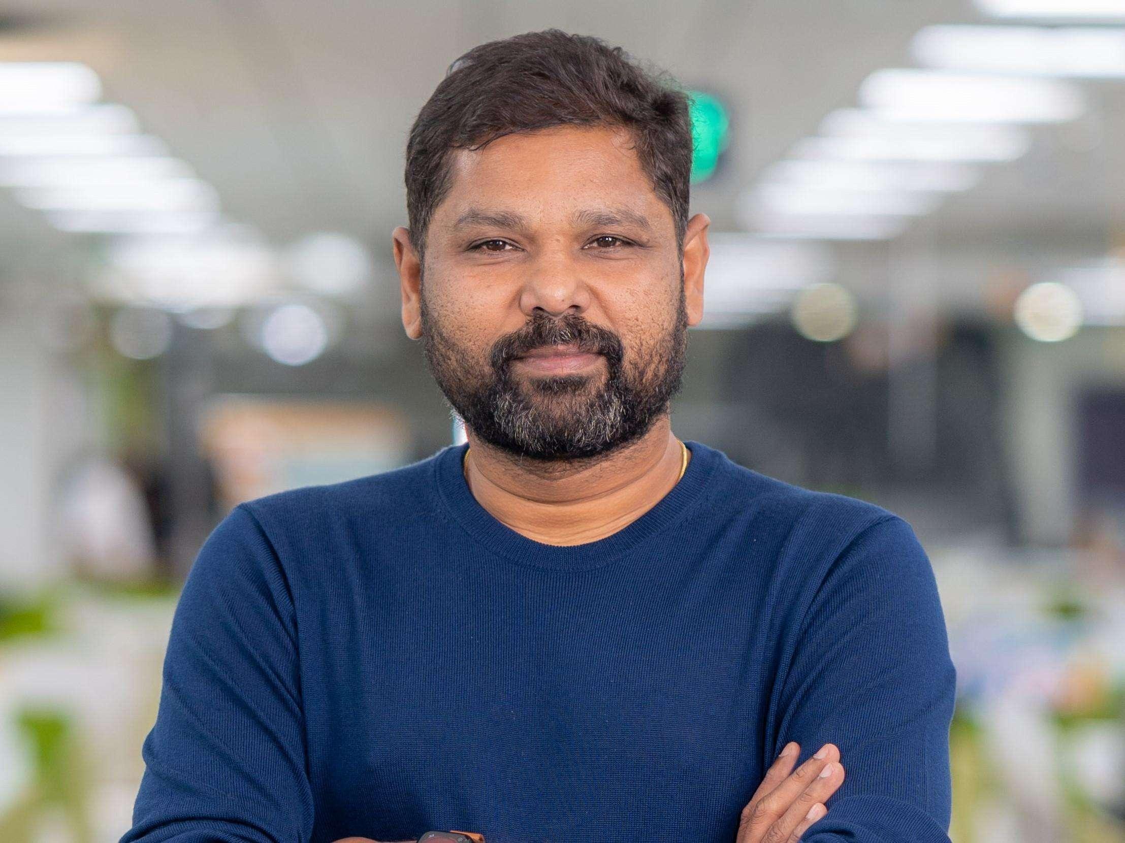 Freshworks CEO Girish Mathrubootham