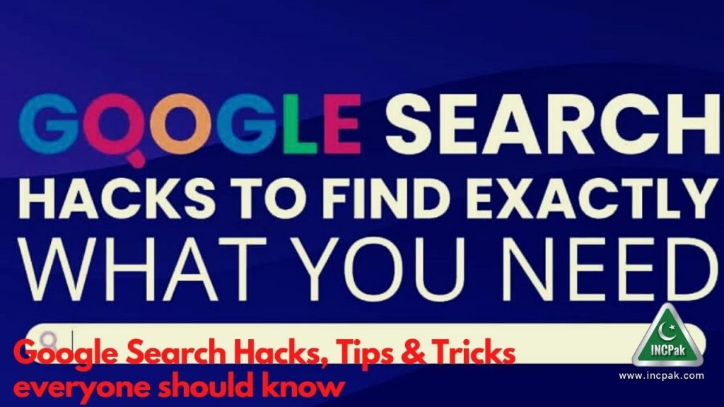 Google Search Hacks, Tips & Tricks everyone should know