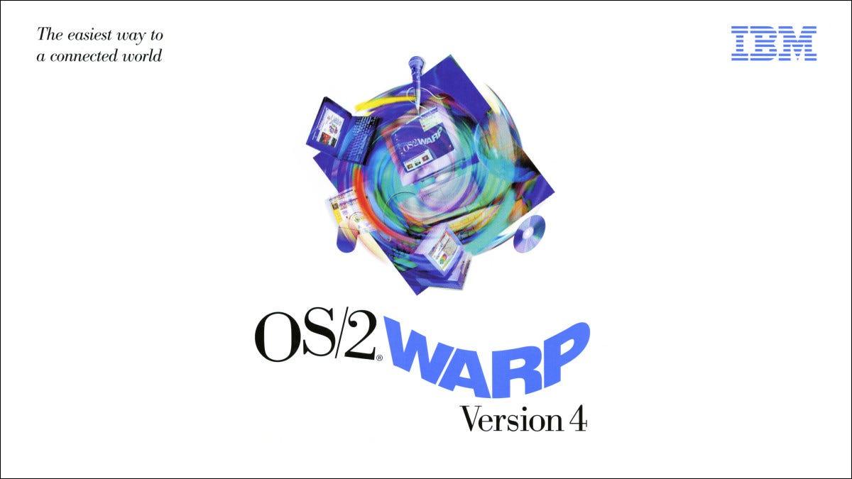 IBM OS/2 Warp Version 4 Artwork