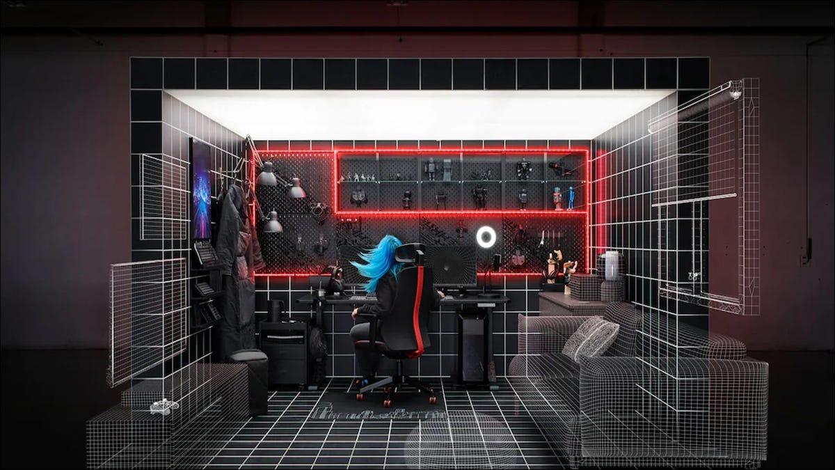 IKEA Gaming setup