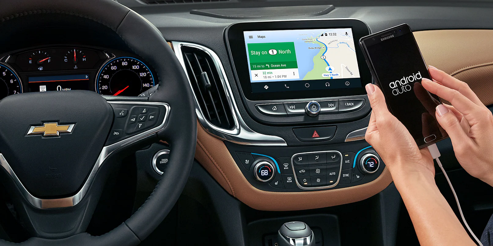 Wired Android Auto in a Chevrolet