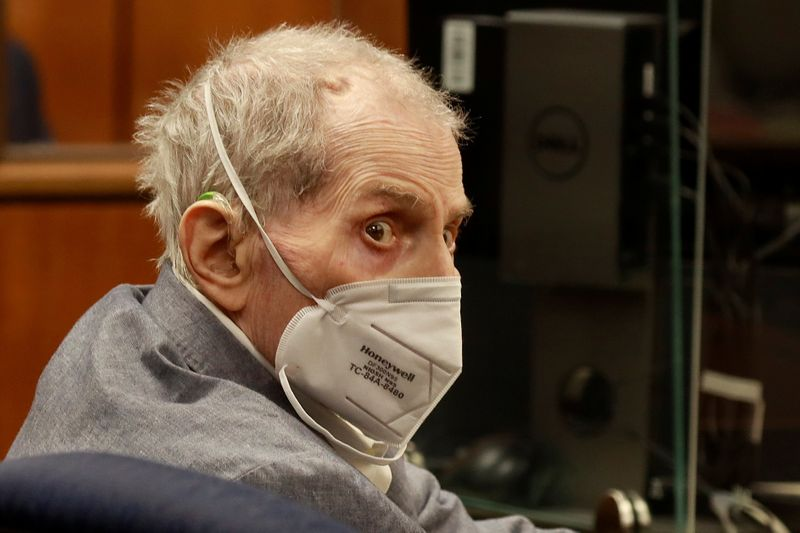 Multimillionaire real estate heir Robert Durst is convicted of murder in L.A