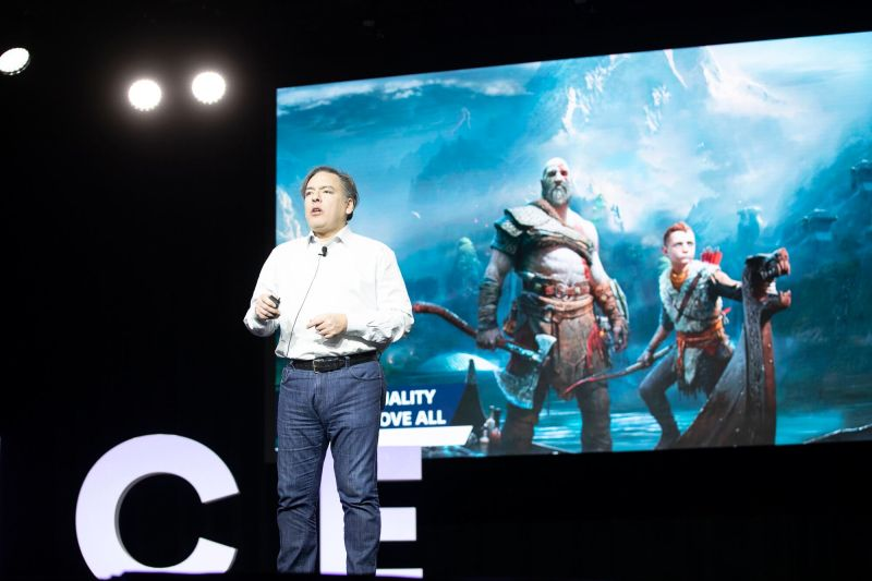 Shawn Layden has to decide on greenlighting titles like God of War.