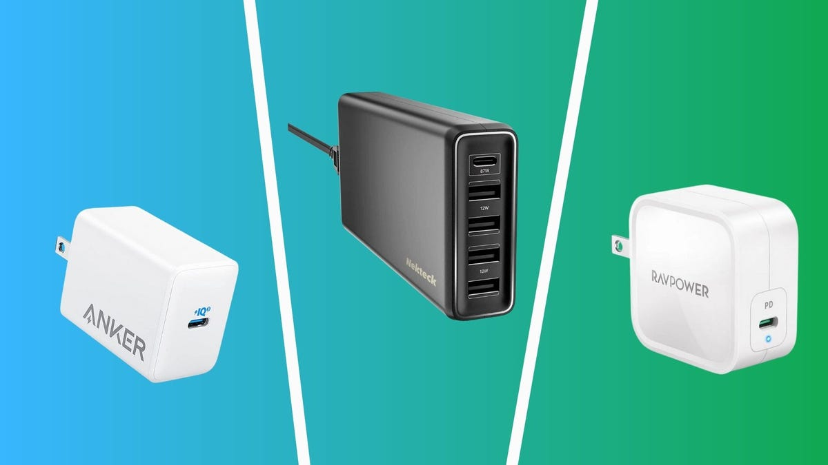 best macbook replacement chargers including anker, nekteck, and ravpower
