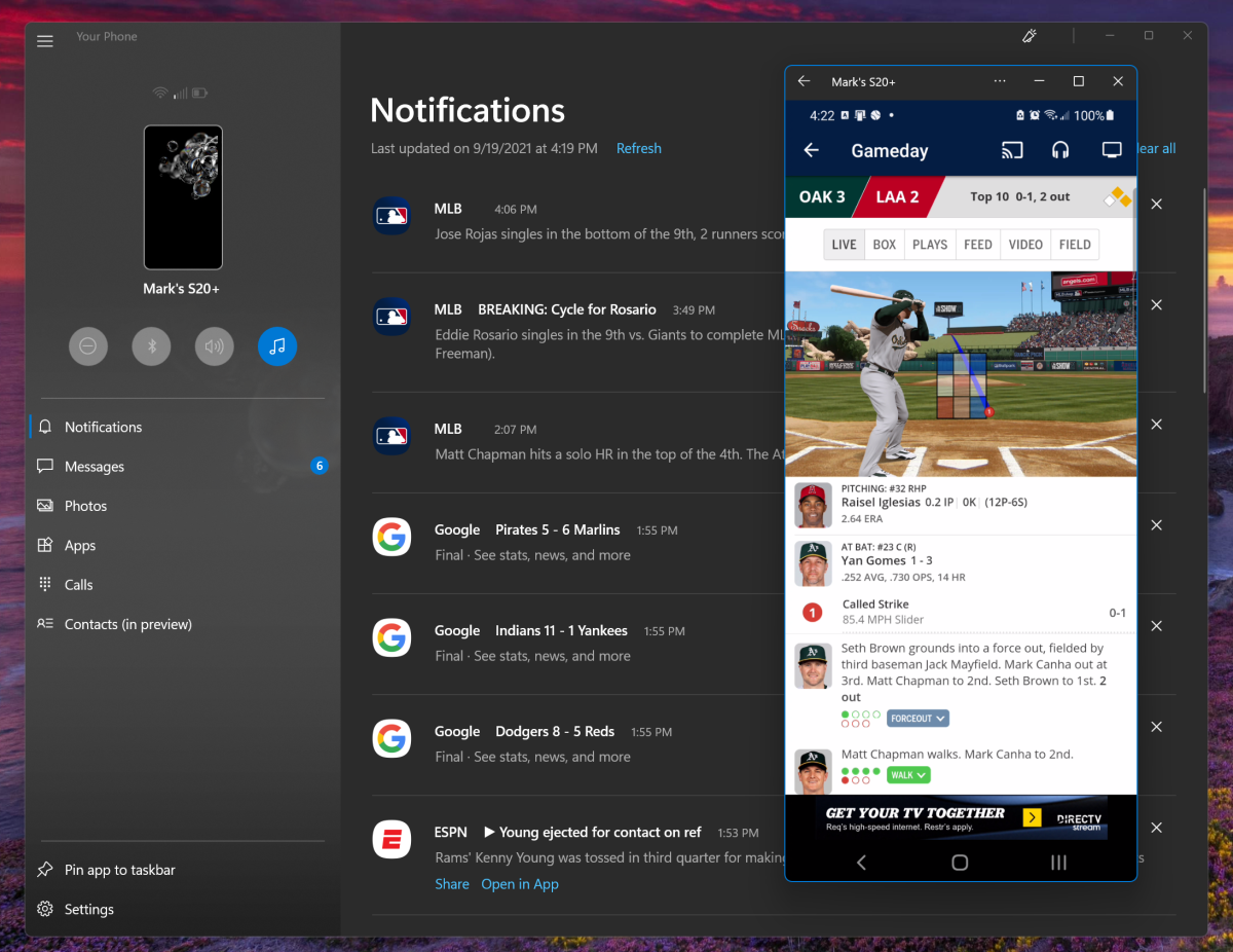 Windows 11 Your Phone Android apps
