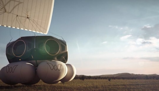 It's billed as an alternative to the likes of Blue Origin and Virgin Galactic (YouTube/World View)