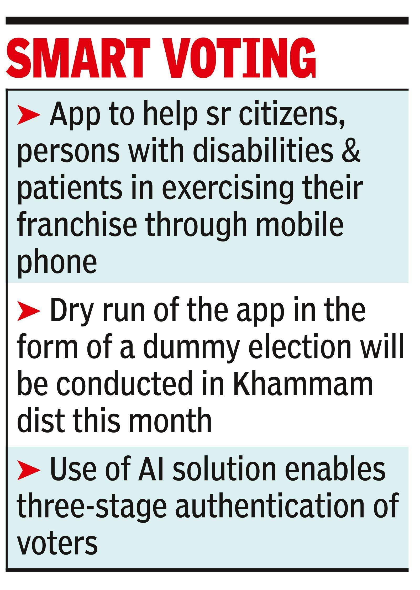 First in India, Telangana develops smartphone-based e-voting app