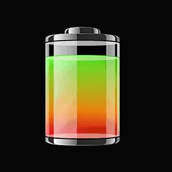 Batteri massasjepistol