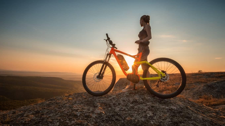 El sykkel bildet