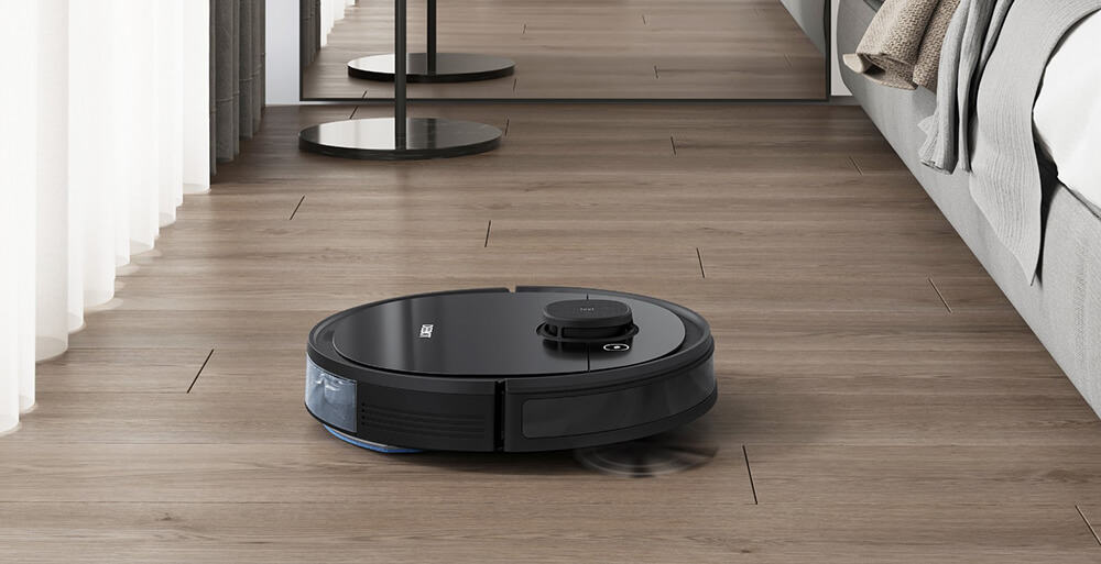 robotstøvsuger rengjøring