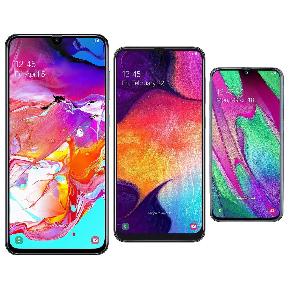 Galaxy A70, A50, A40