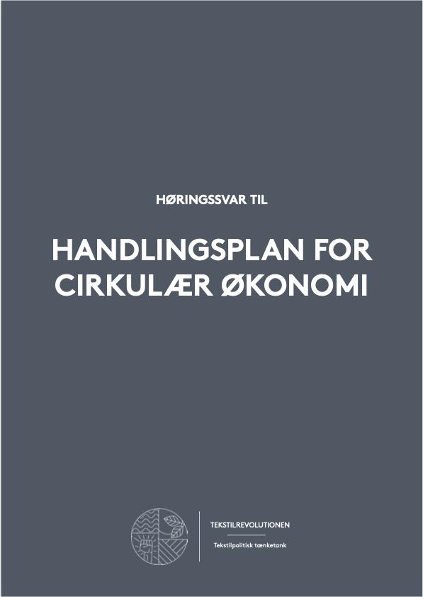 Høringssvar til Handlingsplan for Cirkulær Økonomi