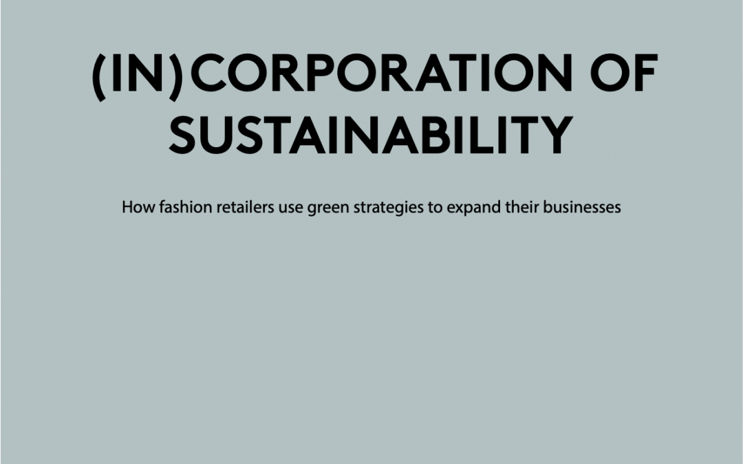 (In)corporation of Sustainability
