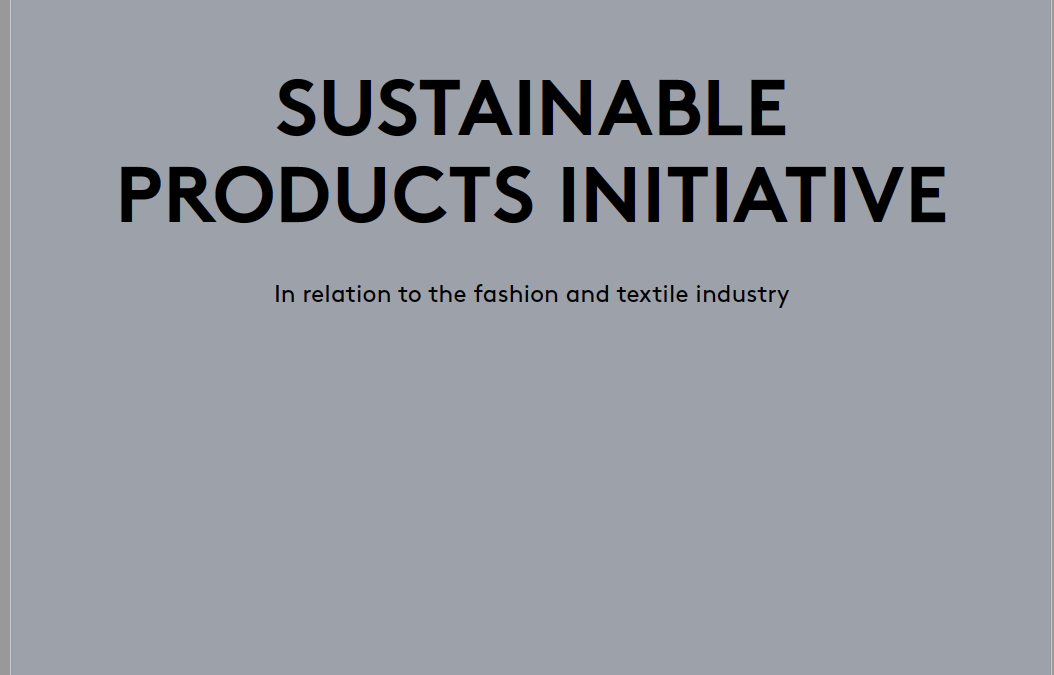 Sustainable Product Initiative – Position Paper