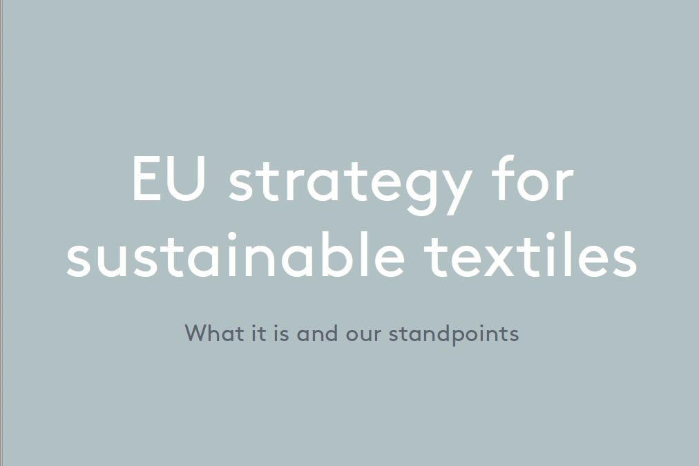 EU strategy for sustainable textiles – Position Paper