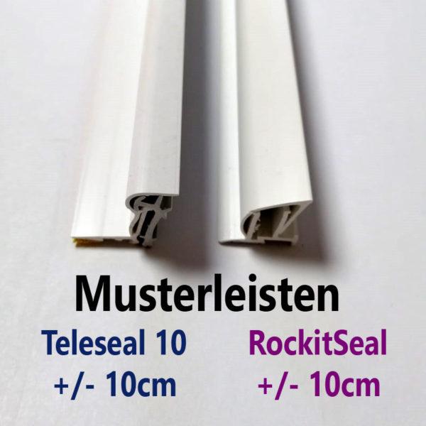 Teleseal und Rockitseal Musterleisten
