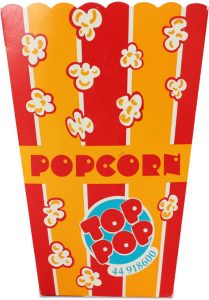 Popcorn - bæger