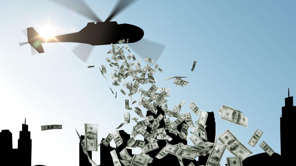 Il Denaro buttato dall'elicottero e l'inflazione