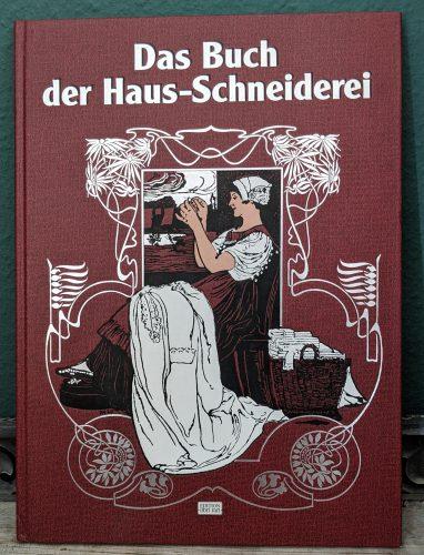 """Titelseite des Buches """"Das Buch der Haus-Schneiderei"""""""
