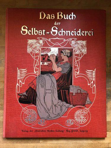"""Titelseite des Buches """"Das Buch der Selbst-Schneiderei"""""""