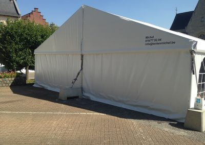 location de tente brabant wallon