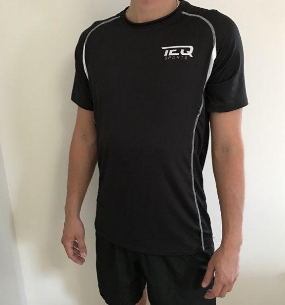 teq tränings t-shirt svart