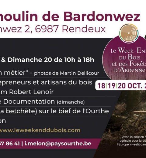 WE du bois et de la forêt Bardonwez 2019