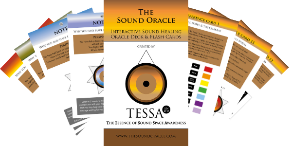 The Sound Oracle deck & sound healing training