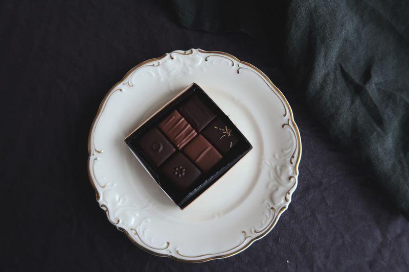 Praliner från Österlenchoklad
