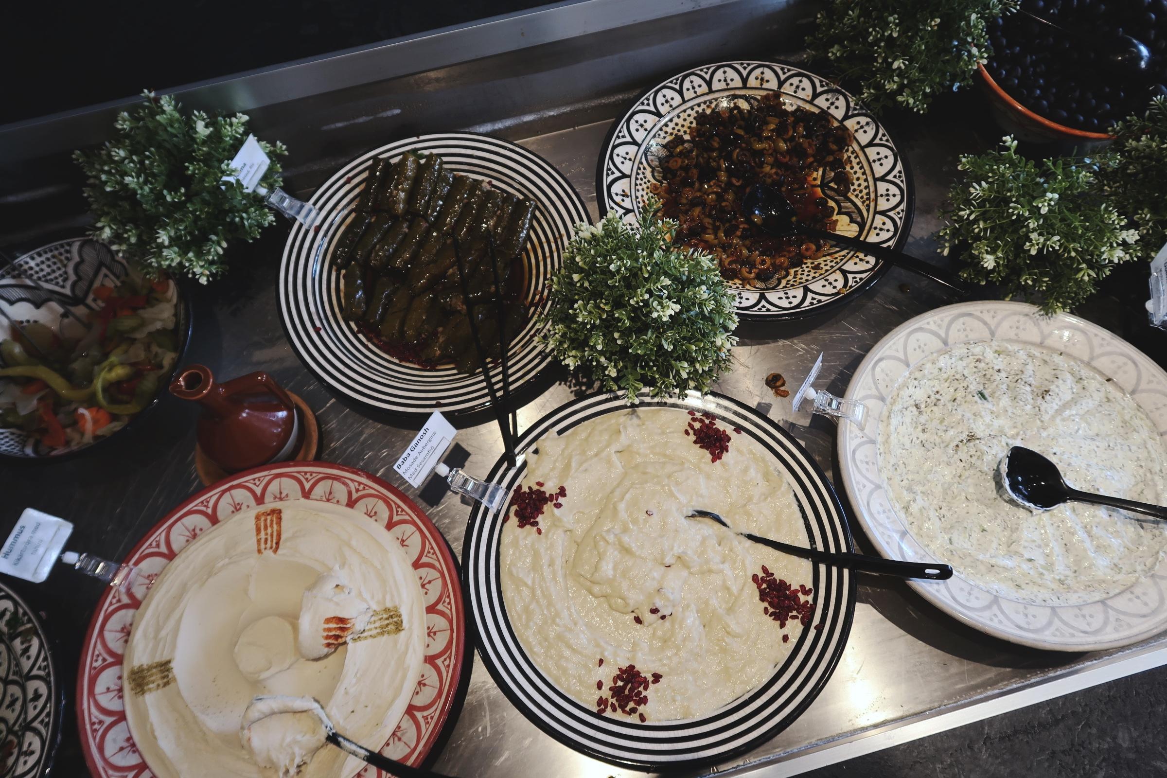 Hummus, baba ganoush och andra goda röror