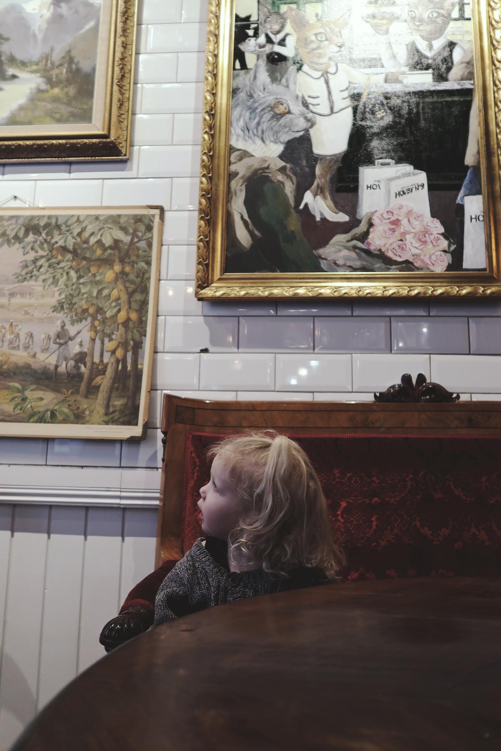 Jag och min yngsta hade en mysig lördag i Lund
