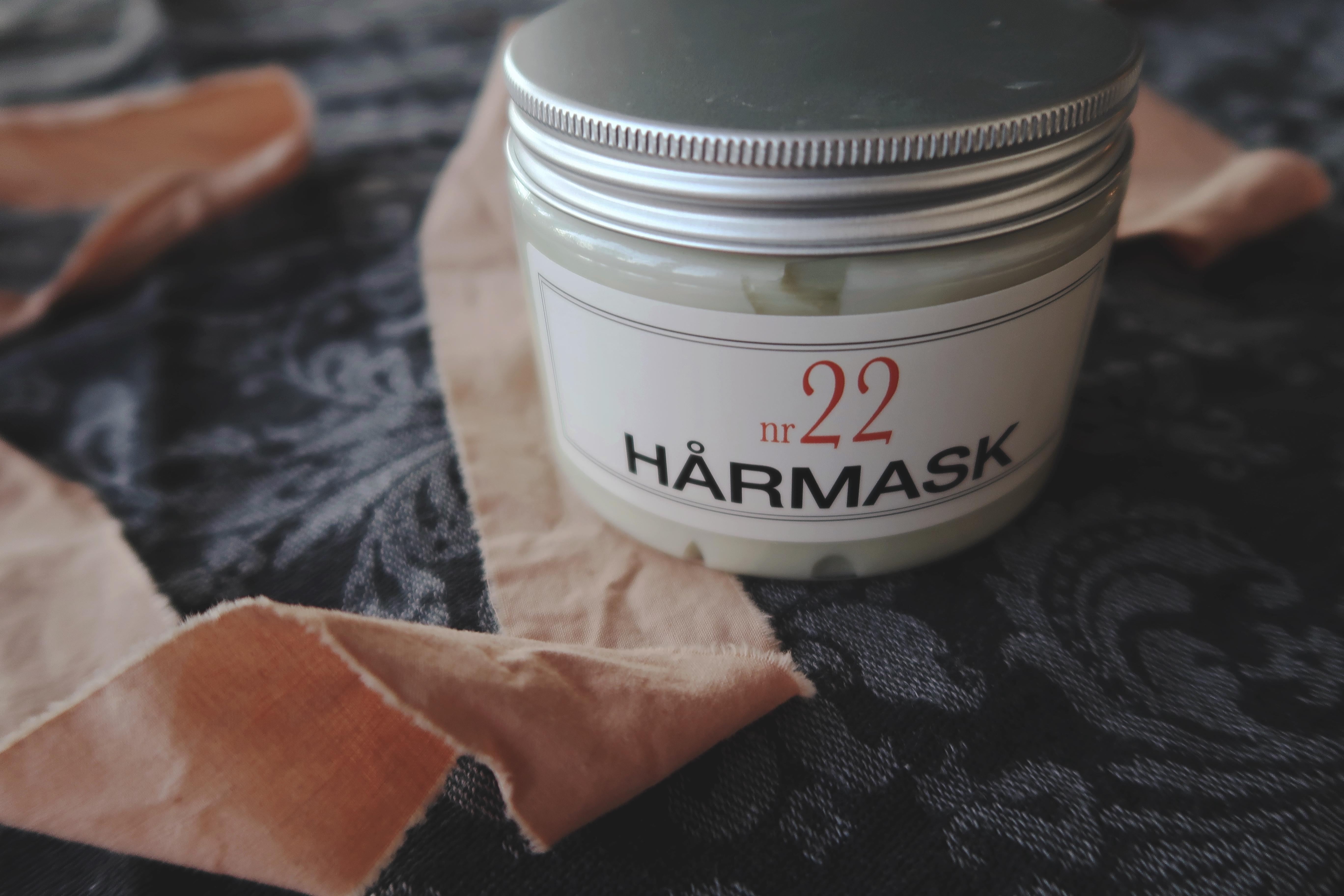 En hårmask är ett förslag på en hållbar present