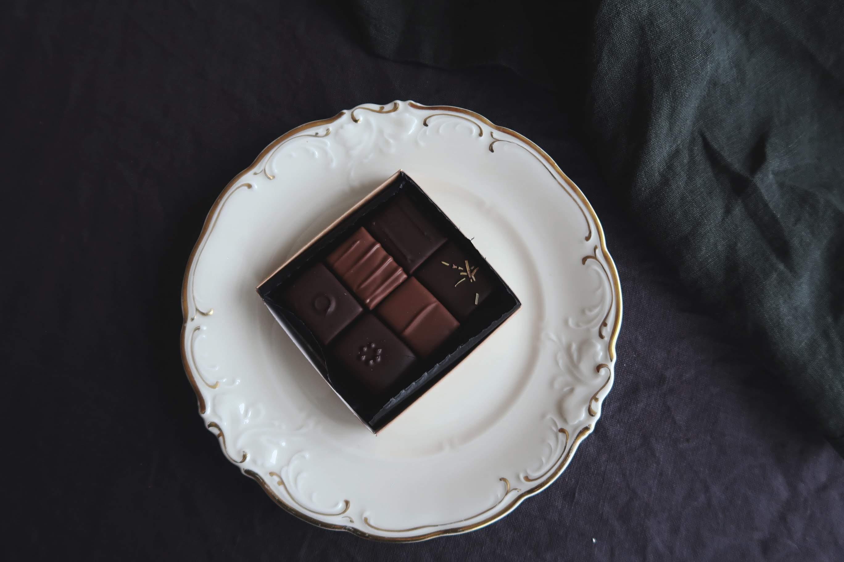 Ljuvliga praliner från Österlenchoklad