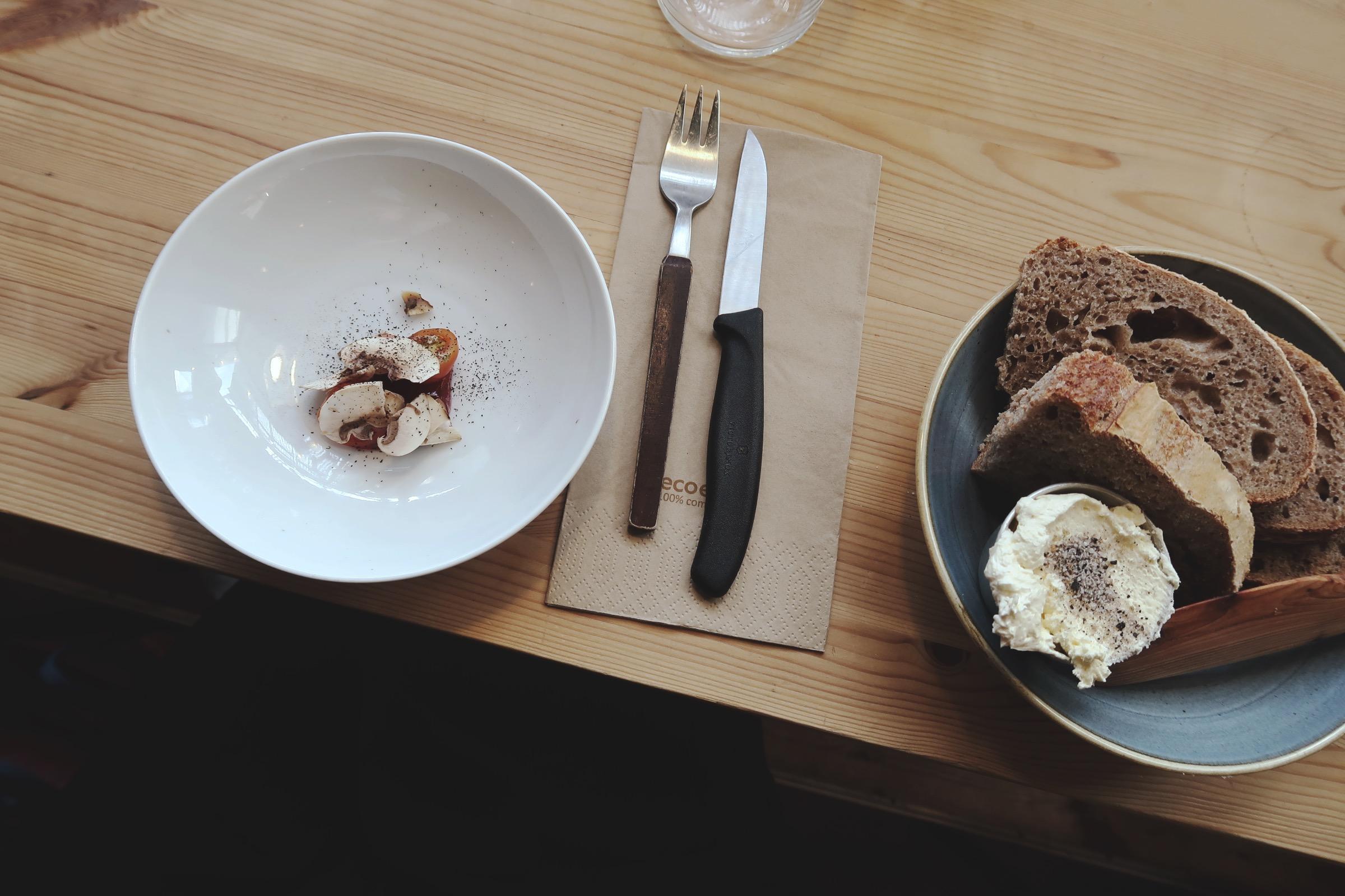 Lunch på Mat- och Chokladstudion