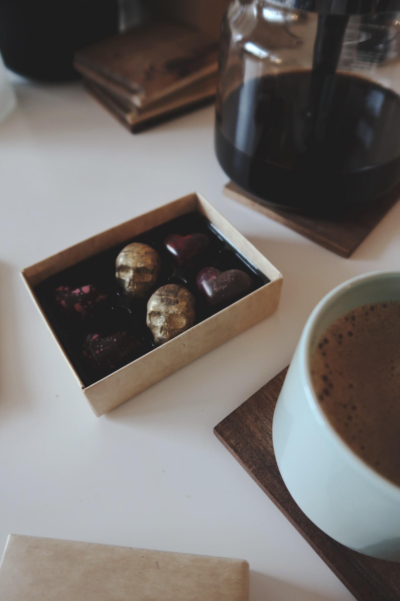Praliner från Mat- och Chokladstudion