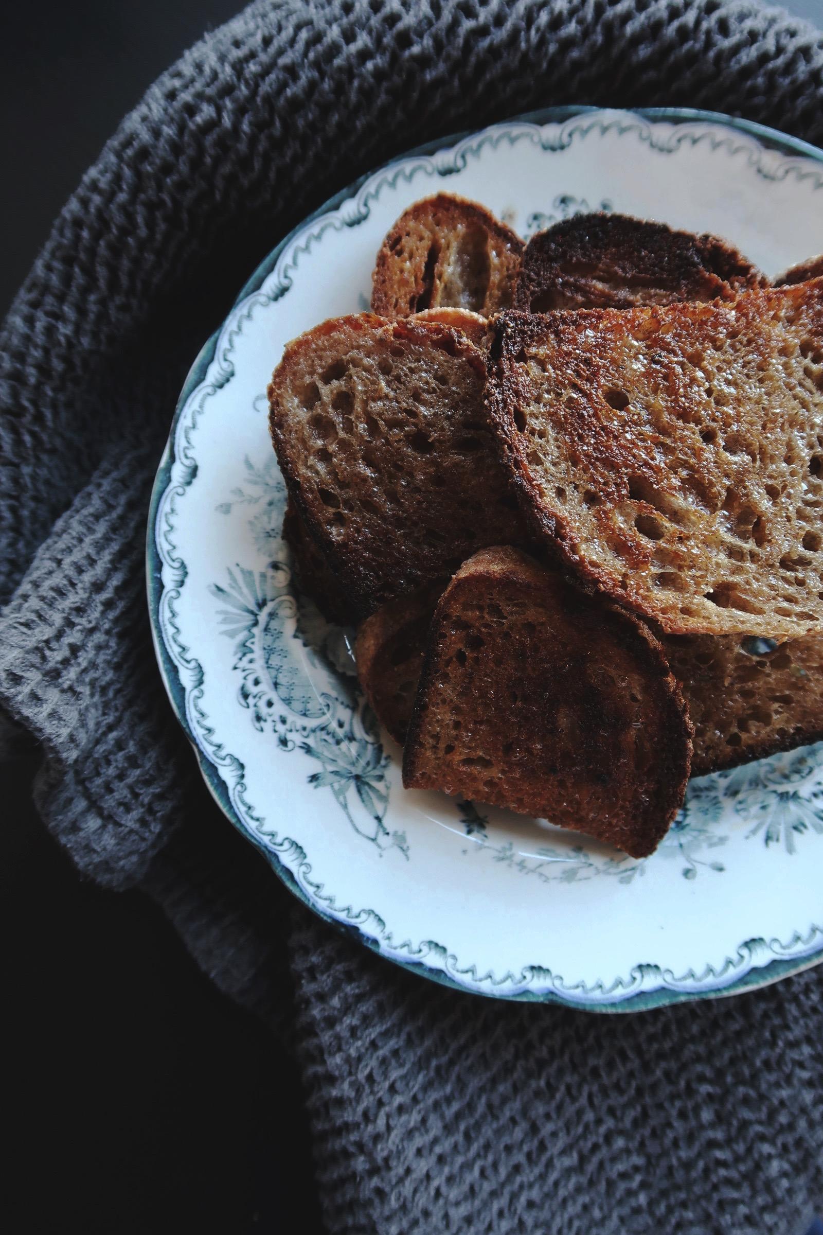 Smörstekt bröd