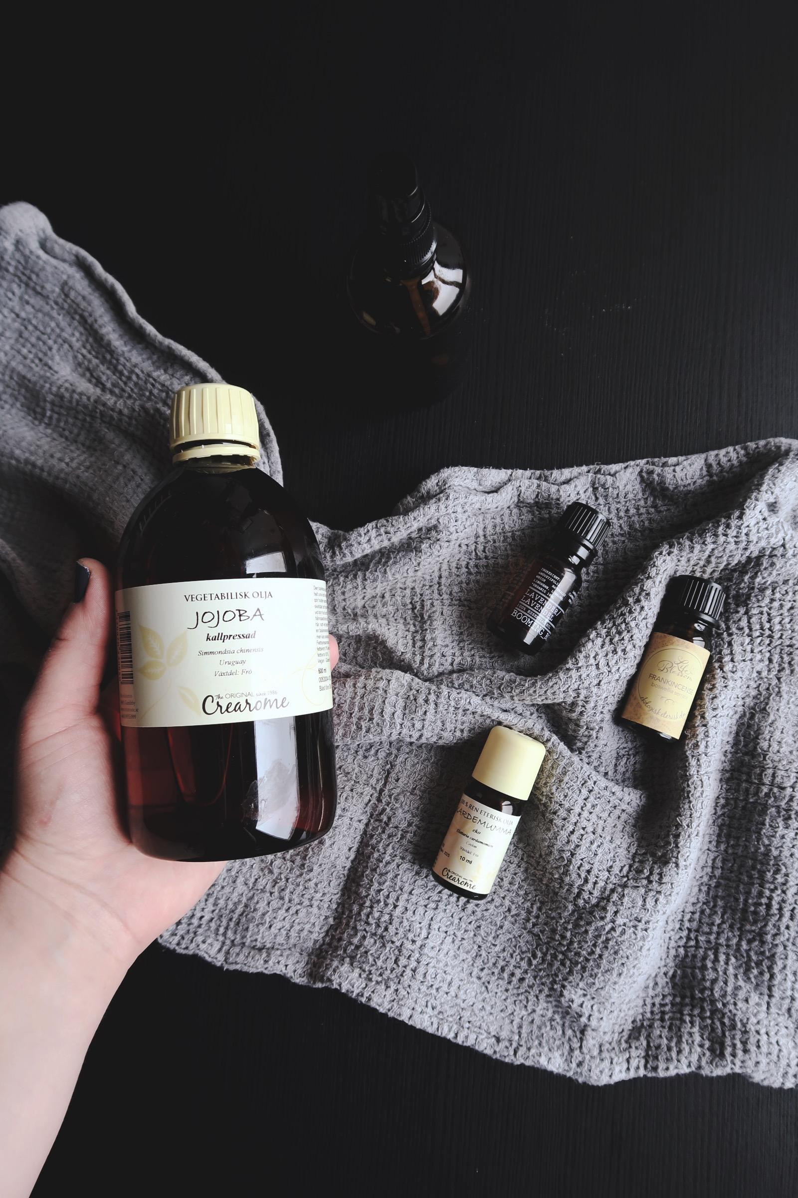 Gör din egen naturliga massageolja