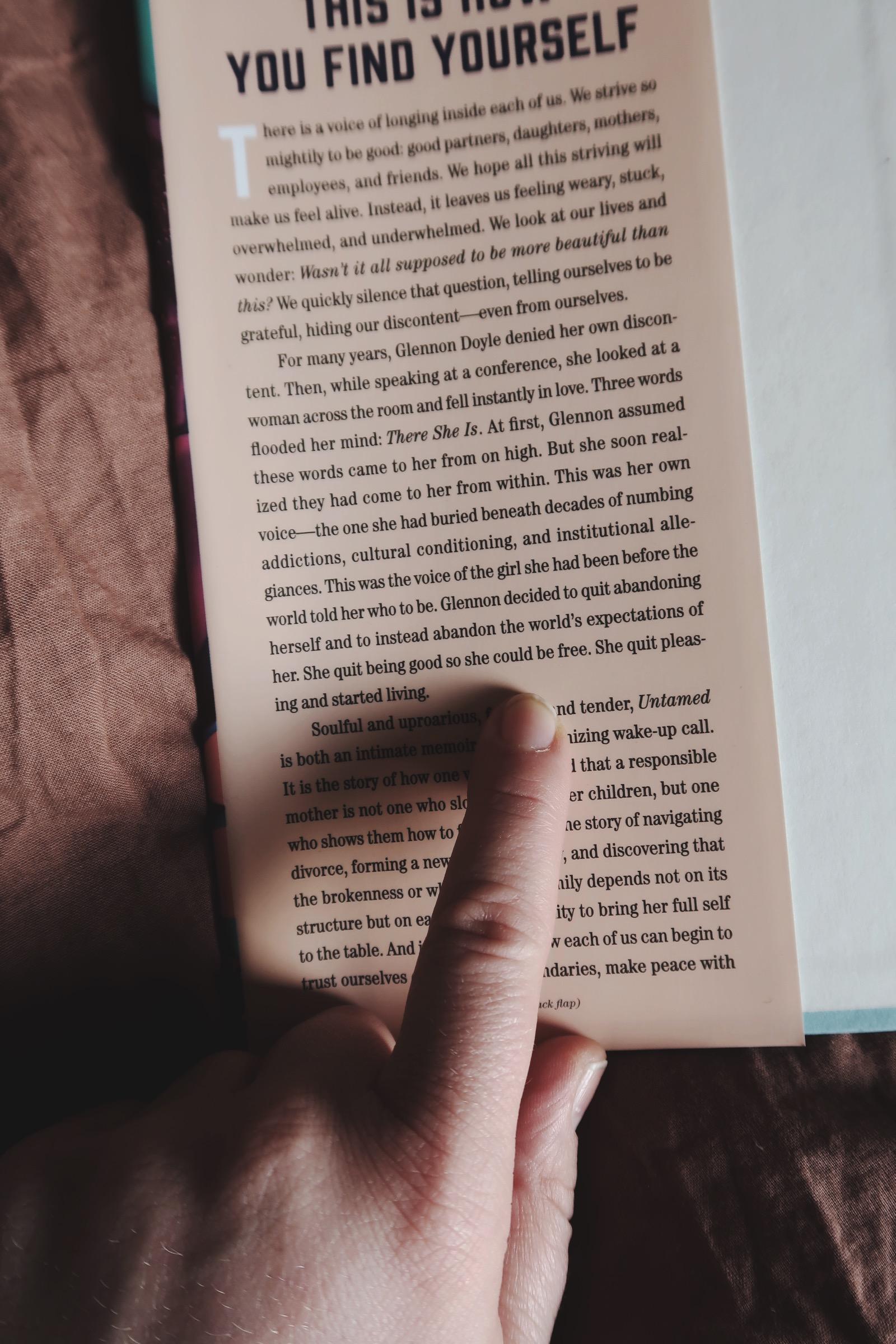 Alla borde läsa Untamed av Glennon Doyle
