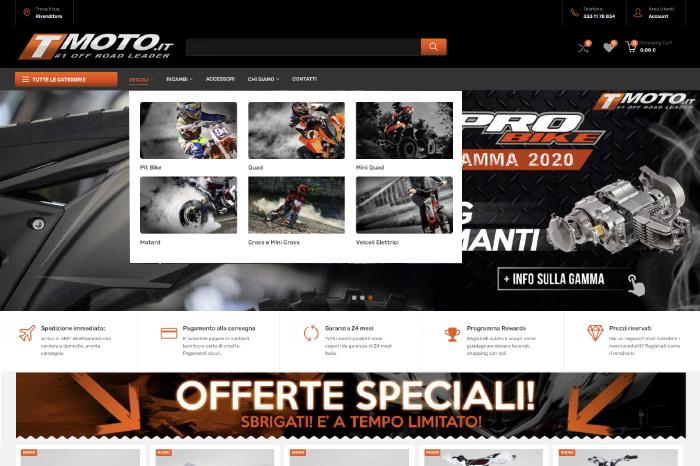 T-Moto #1 Off Road Leader