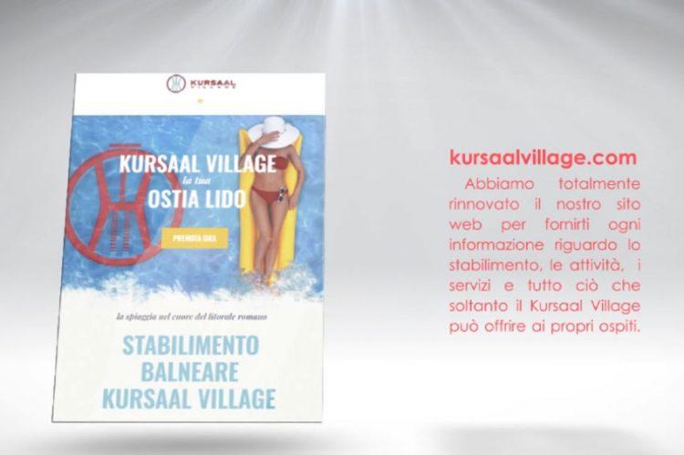 Kursaal Village WebSite Social Visual Content