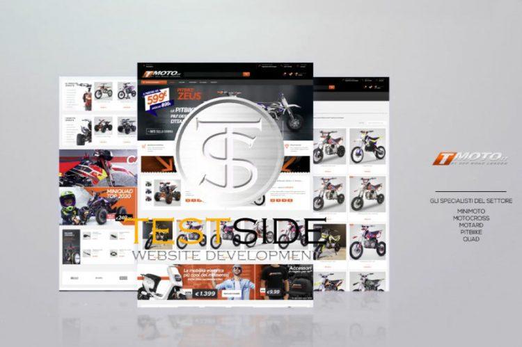 T-Moto E-Commerce Social Visual Content