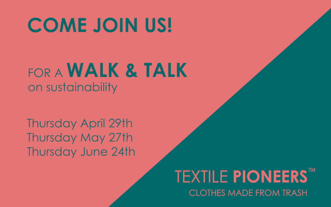 Interested in Sustainability? Join our WALK & TALK?