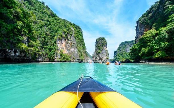 Activities Thailand canoeing and kayaking phuket
